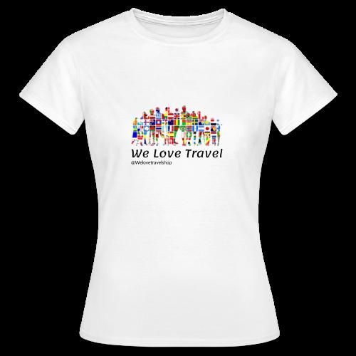 We Love Travel - Camiseta mujer