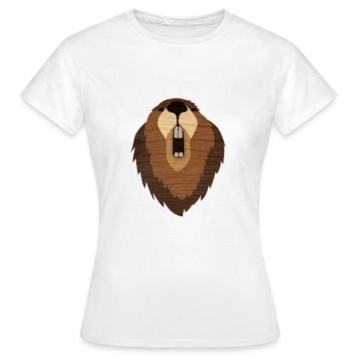 Woodchip Beaver - Frauen T-Shirt
