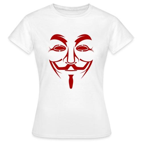 Anonym - Frauen T-Shirt