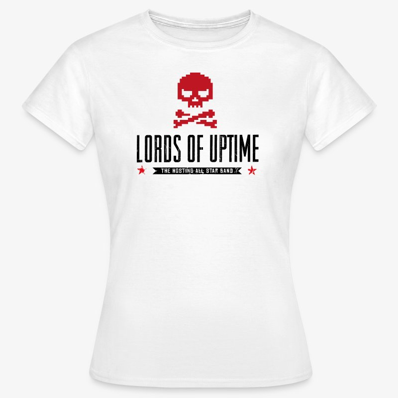 Lords of Uptime black - Frauen T-Shirt