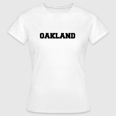 oakland - T-shirt Femme