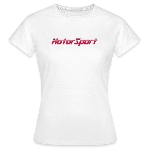 MotorSport - T-shirt Femme