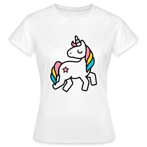 geburtstagswuensche bilder einhorn awesome and s.. - Frauen T-Shirt