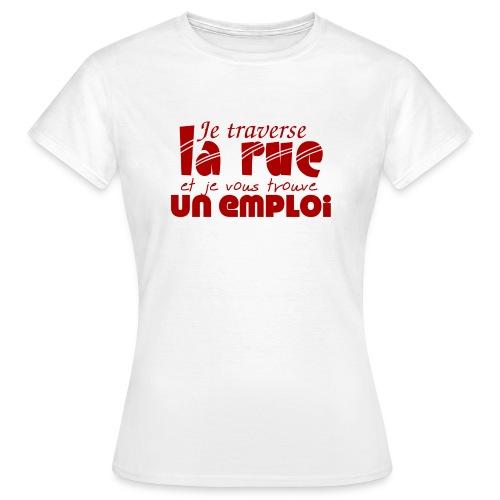 #TraverseLaRueCommeManu - T-shirt Femme