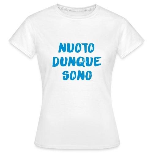 NUOTO DUNQUE SONO - Maglietta da donna
