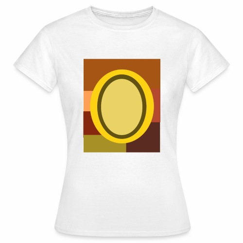 Egg in the middle - Frauen T-Shirt
