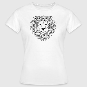 sound lion black - Frauen T-Shirt