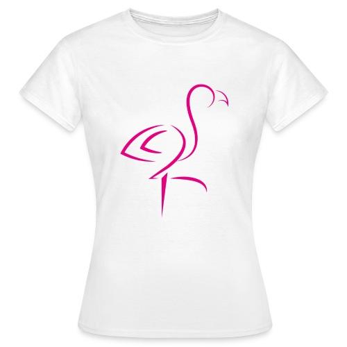 FLAMINGO - Vrouwen T-shirt