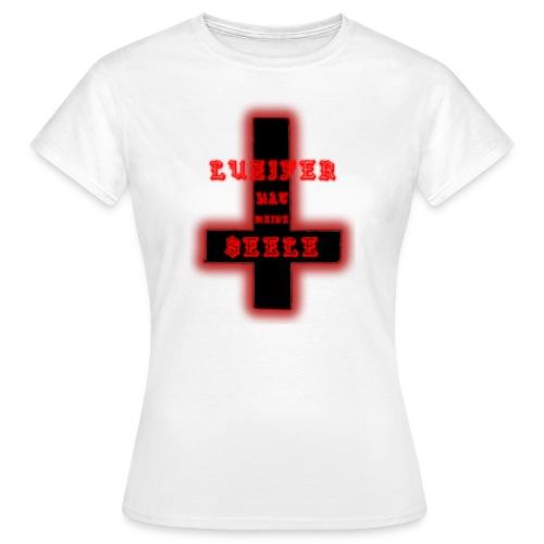 L.H.M.S (Luzifer hat Meine Seele) Logo - Frauen T-Shirt