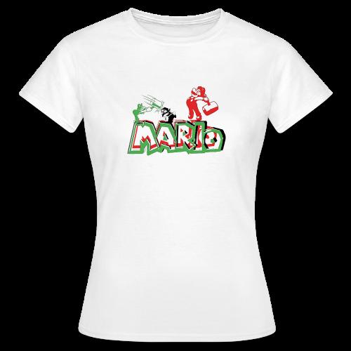 Mario y Luigi - Camiseta mujer