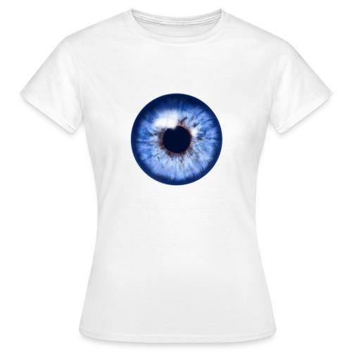blue eye - Frauen T-Shirt