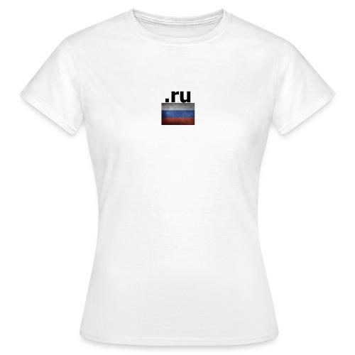 .ru Russland-Fahnen Trikot - Frauen T-Shirt