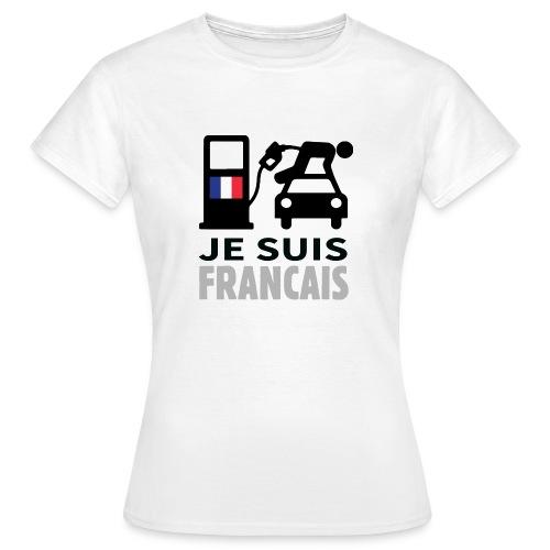 Je suis français 2 - T-shirt Femme