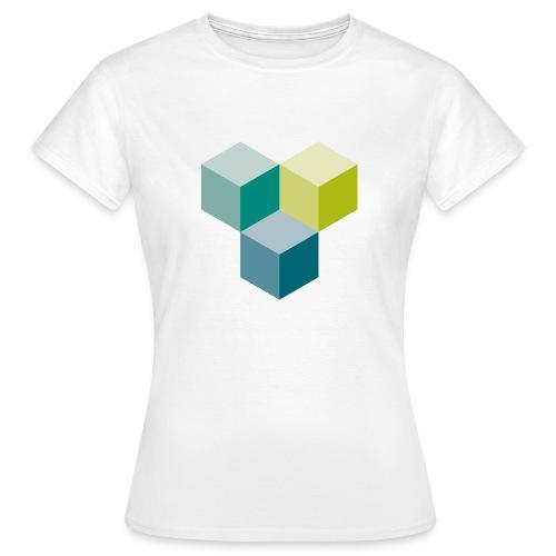 Cube - Frauen T-Shirt