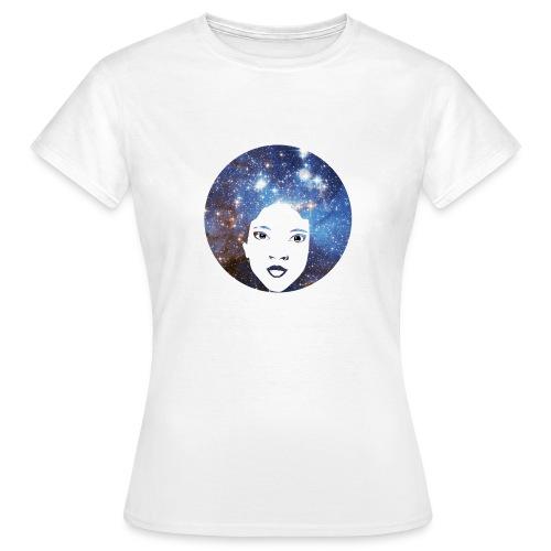 Afro Galaxie - T-shirt Femme