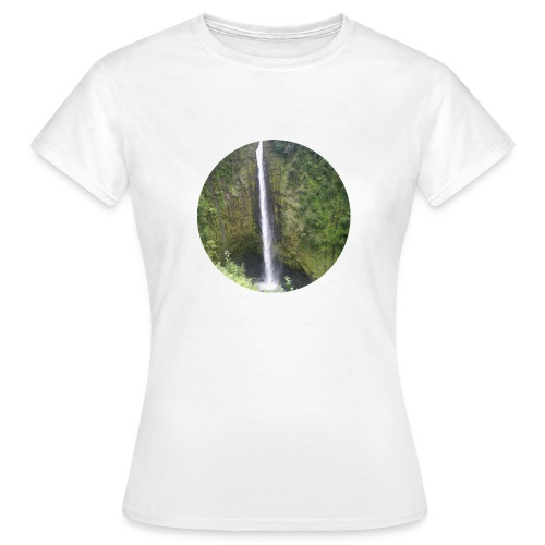 Hawaii Big Island Wasserfall - Frauen T-Shirt