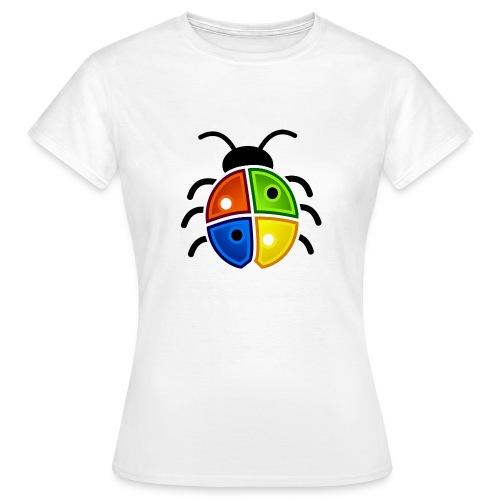 WINDOWS BUG/VIRUS - Frauen T-Shirt