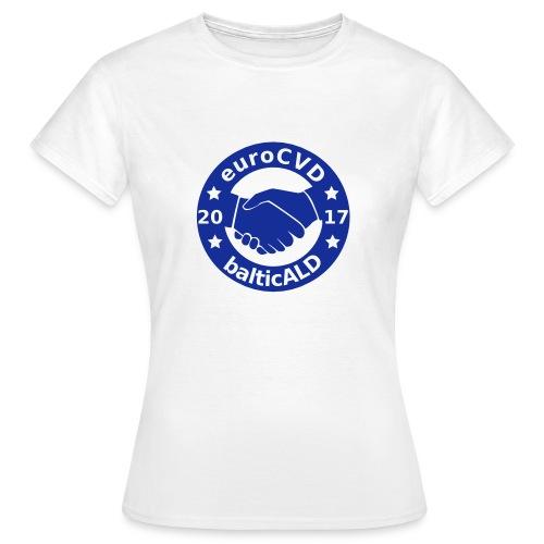 Joint EuroCVD - BalticALD conference mens t-shirt - Women's T-Shirt
