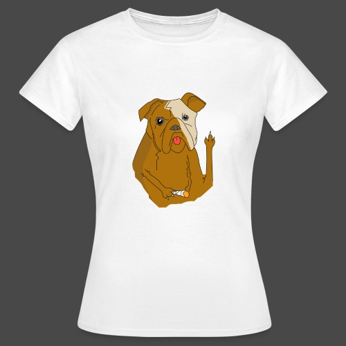 Smokey the Dog - Women's T-Shirt