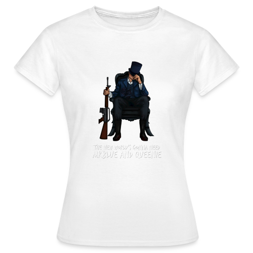 MrBlue's New World - Women's T-Shirt