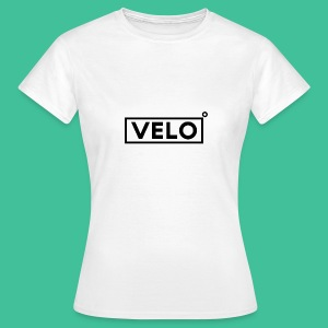 Velo Icon Blk - Long Sleeve Baseball Shirt W/N Clr - Women's T-Shirt