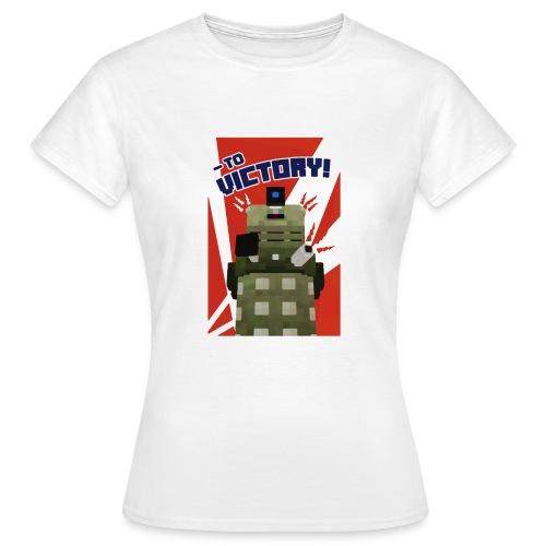Dalek Mod - To Victory - Women's T-Shirt