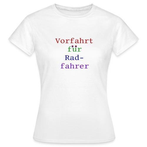 radfahrer - Frauen T-Shirt