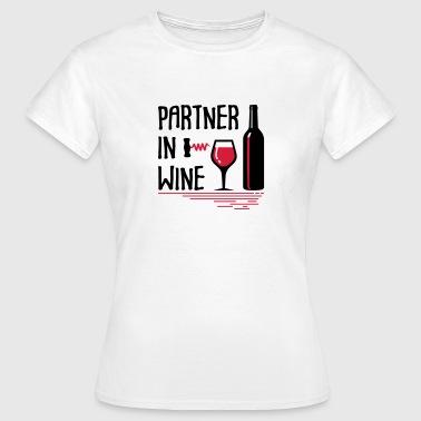 Partenaires dans le vin - T-shirt Femme