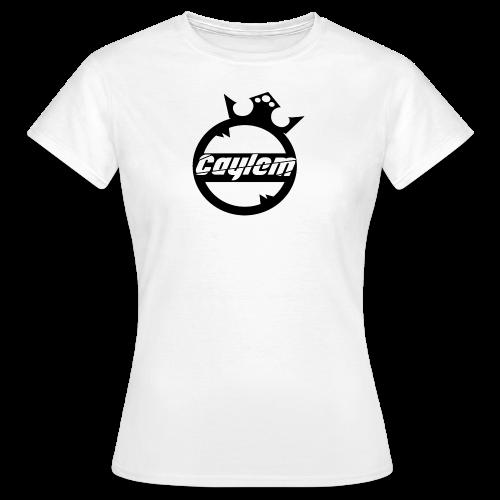 Caylem Logo Schwarz - Frauen T-Shirt