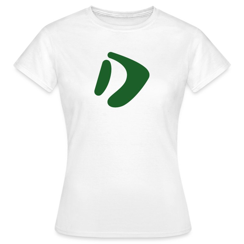 Logo D Green DomesSport - Frauen T-Shirt