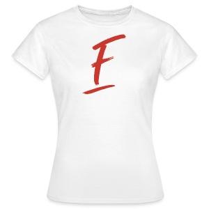 Radio Fugue F Rouge - T-shirt Femme