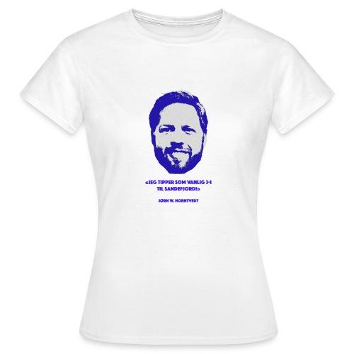 Horntvedt - T-skjorte for kvinner