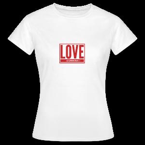 Love Las Canteras - Camiseta mujer