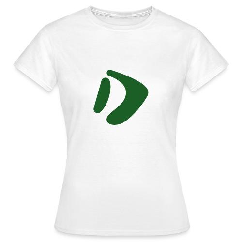 Logo D Green DomesSport - Frauen T-Shirt