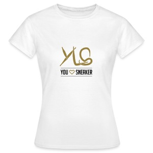 you love sneaker - Frauen T-Shirt