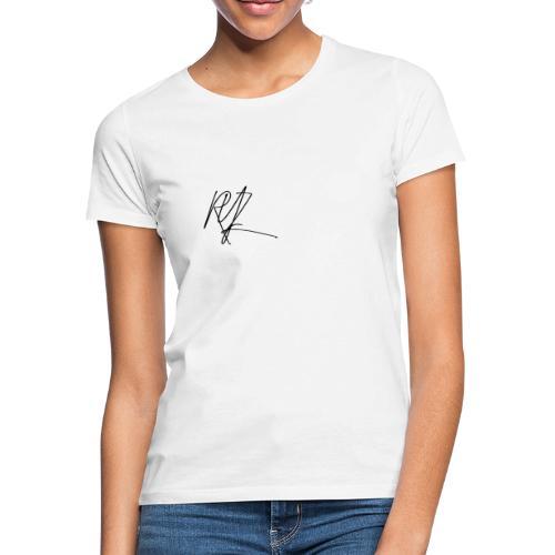 RYZ Unterschrift Logo (SCHWARZ) - Frauen T-Shirt