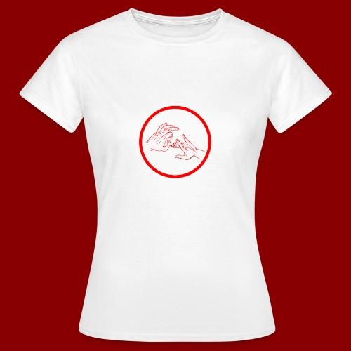 Logo Rond / Rouge - T-shirt Femme