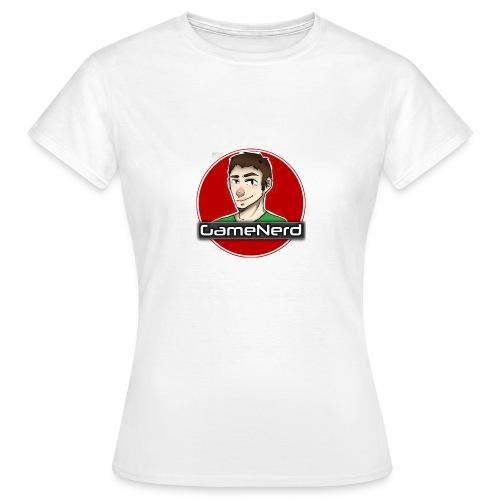 GameNerd Logo - T-shirt dam