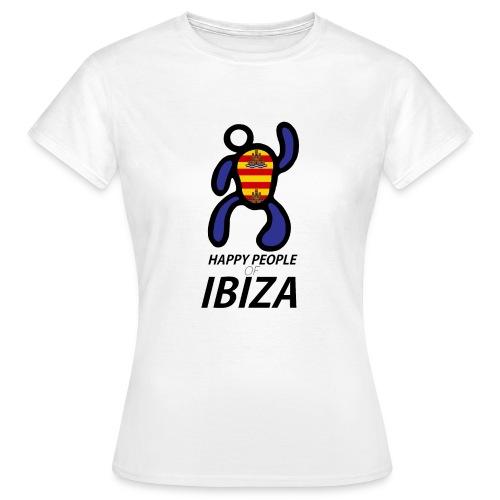 Happy People of Ibiza - Vrouwen T-shirt