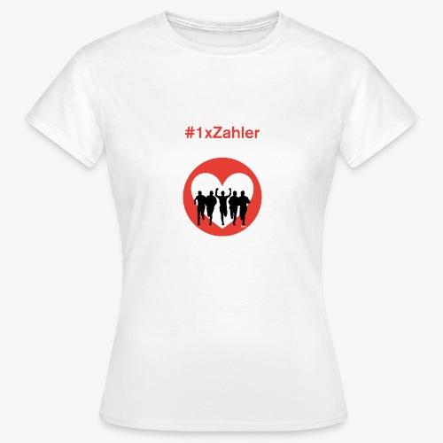 1xzahler Rot - Frauen T-Shirt