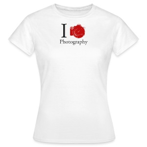 I Love Photography Collection - Frauen T-Shirt