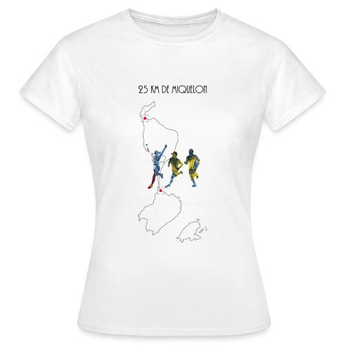 25 km de Miquelon - T-shirt Femme