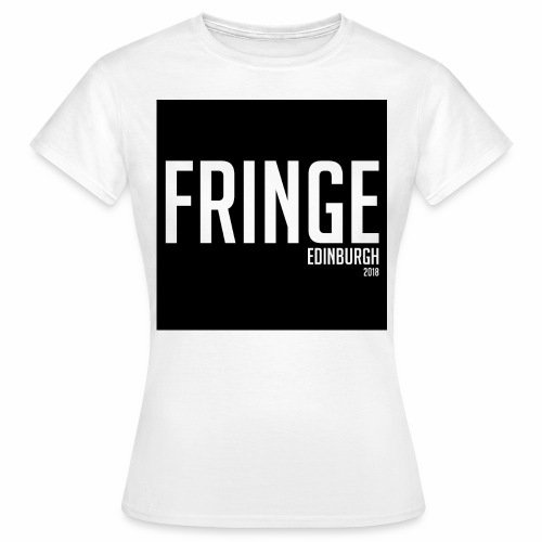 Fringe 2018 Black on White - Women's T-Shirt