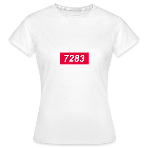 7283-Red - Women's T-Shirt