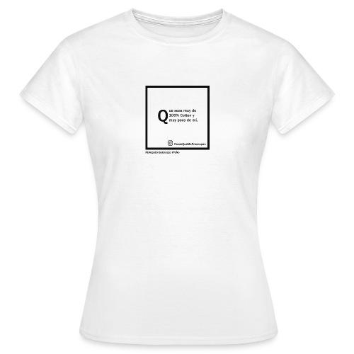 100 cotton - Camiseta mujer