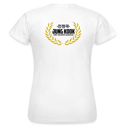 JK The Golden Maknae - Frauen T-Shirt