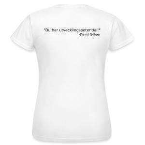 Ju jutsu kai förslag 1 version 1 svart text - T-shirt dam