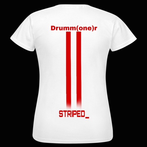 Striped_ - Women's T-Shirt