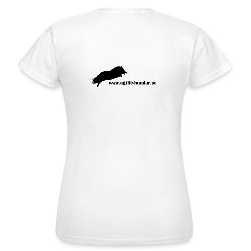 Agilityhundar.se logga - T-shirt dam