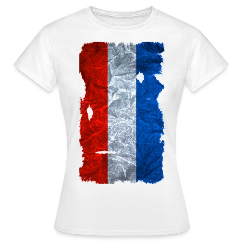 Schleswig-Holstein Fahne / Flagge vintage usedlook - Frauen T-Shirt